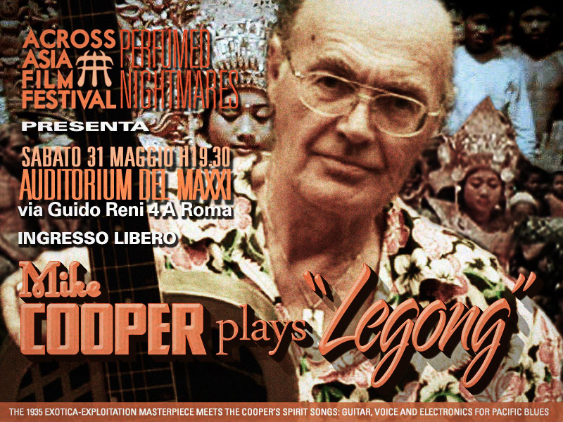 mike cooper plays legong